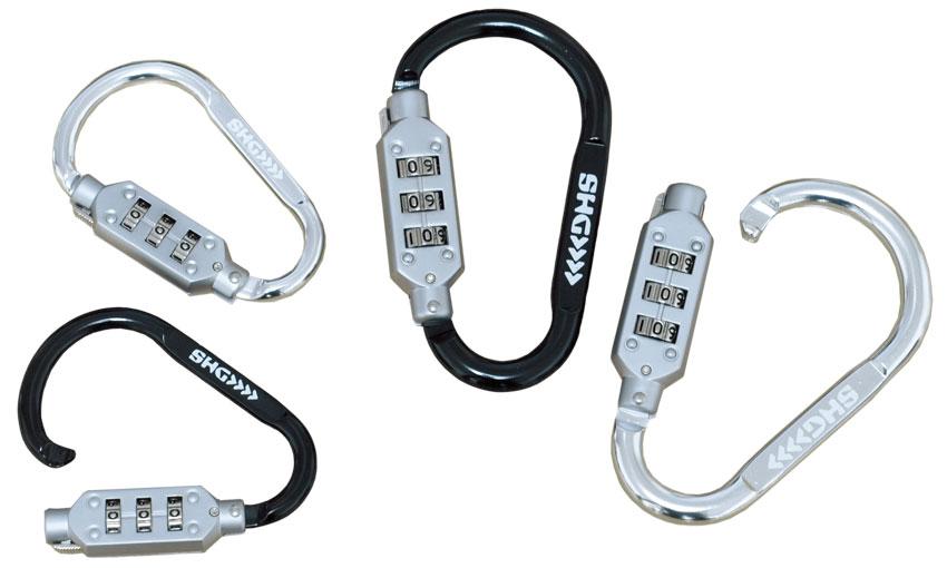 カラビナwith Lock Sサイズ、Mサイズ